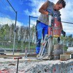 drilling concrete